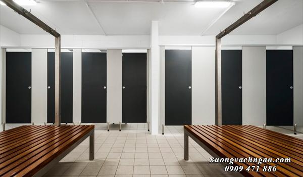 Những mẫu vách ngăn vệ sinh đẹp cho quán nhậu