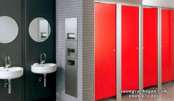 Những mẫu vách ngăn vệ sinh đẹp cho quán nhậu 2