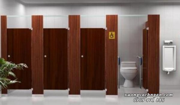 Những mẫu vách ngăn vệ sinh đẹp cho quán nhậu 4