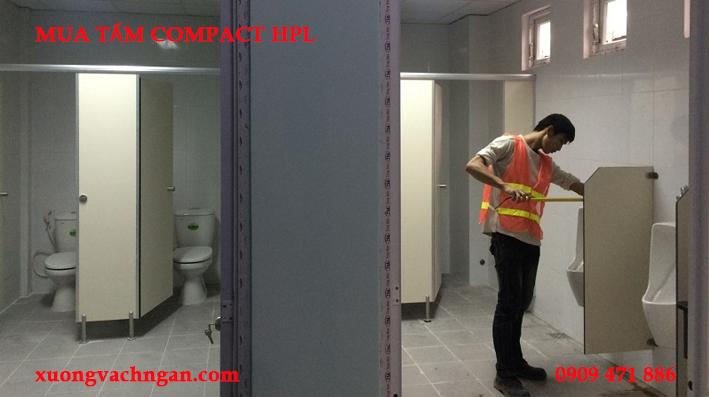 thợ thi công vách ngăn vệ sinh