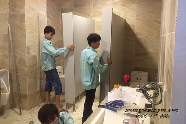 Thi công nhà vệ sinh tại An Giang