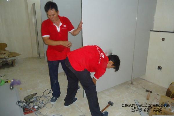 Thi công nhà vệ sinh tại VĨnh Long